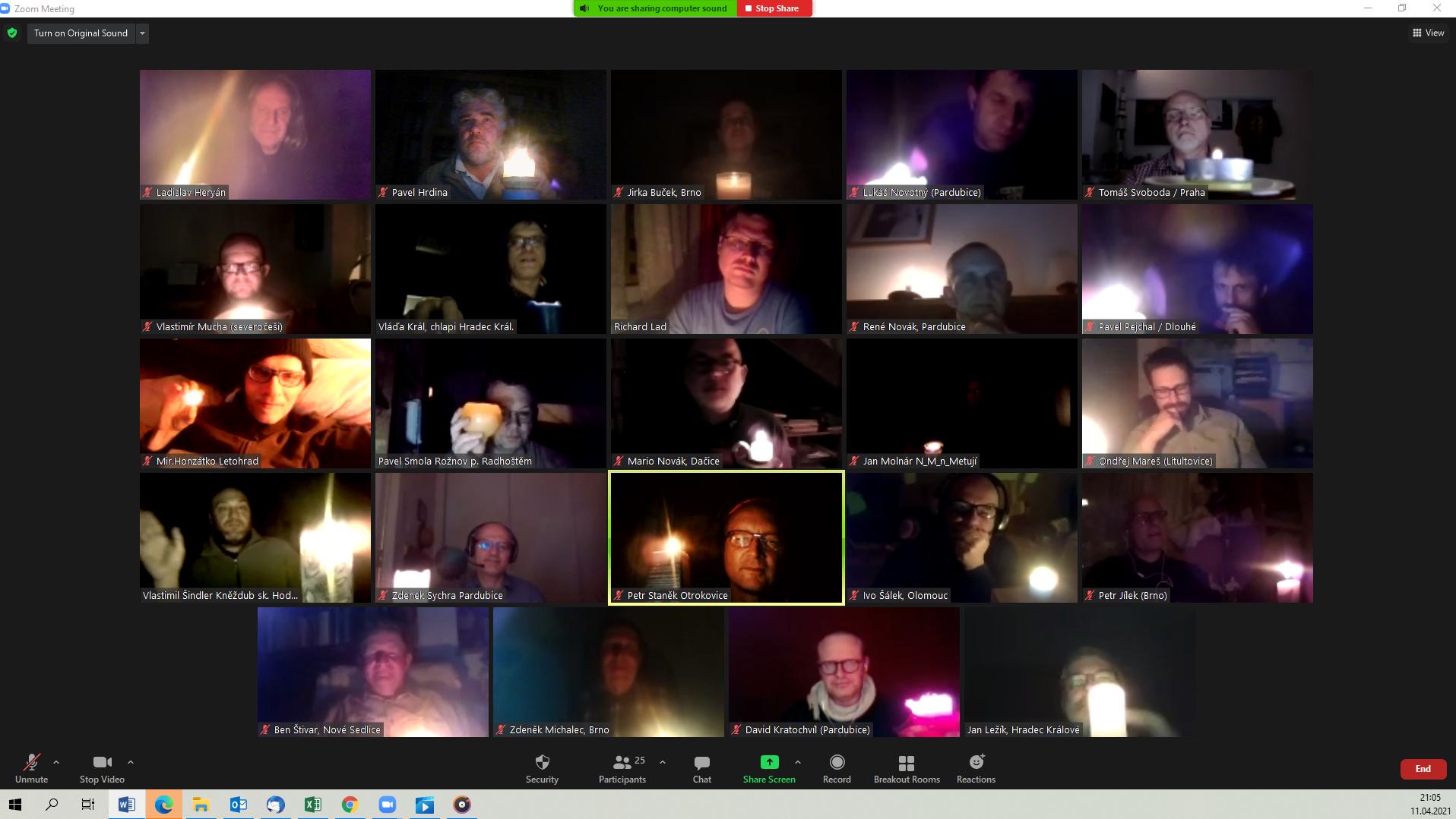 Fotka online setkání